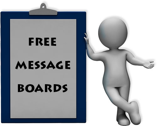Free Message Boards - Completely Customizable