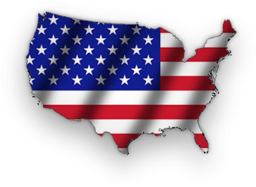 Free American Flag Gifs American Flag Animations Patriotic Clipart - American-flag-us-map