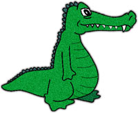 Free Alligator Graphics - Animated Alligators - Clipart