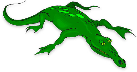 free alligator gifs animated alligators clipart
