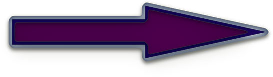 purple arrow with glass trim
