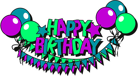 free birthday clipart animations rh fg a com Clip Art Birthday Cake Birthday Balloons Clip Art