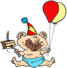 free birthday clipart animations rh fg a com birthday clipart son birthday clipart for him