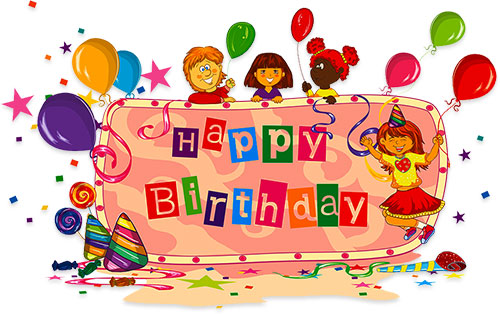 Free Birthday Clipart - Animations