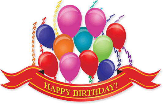 Clip Art Birthday Pictures Clip Art birthday gifs free clipart balloons ribbins and streamers
