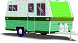 travel trailer for camping