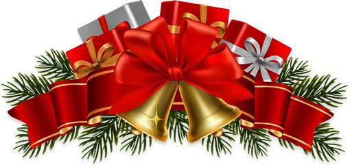 presents and ribbon