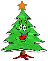 happy christmas tree - Animated Christmas Pictures