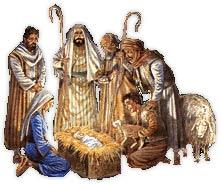Clipart Christmas - Nativity Scenes
