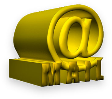 @ mail yellow and 3D