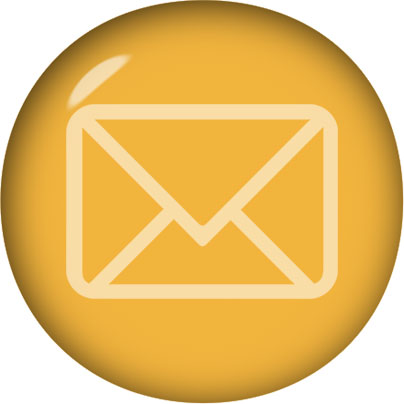 gold email button clipart