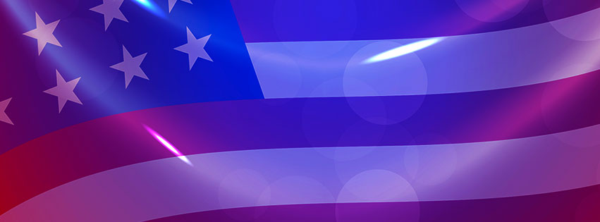 Free 4th of July Facebook Cover Clipart - Images