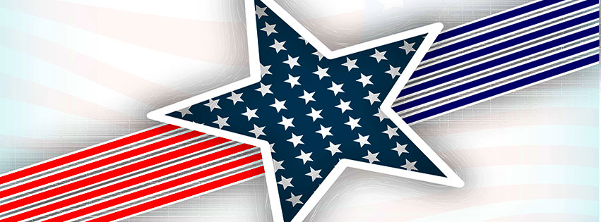 free 4th of july facebook cover clipart images