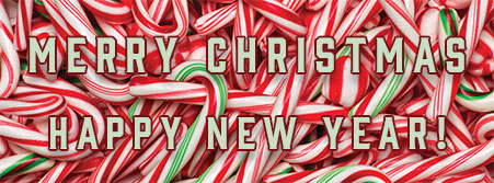 candy canes Merry Christmas