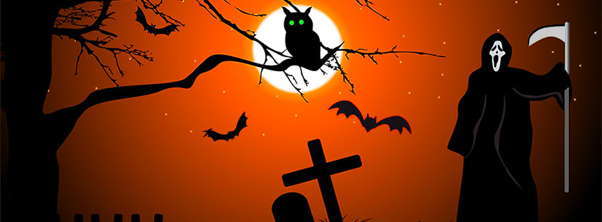 Free Halloween Facebook Covers Clipart Timeline Images