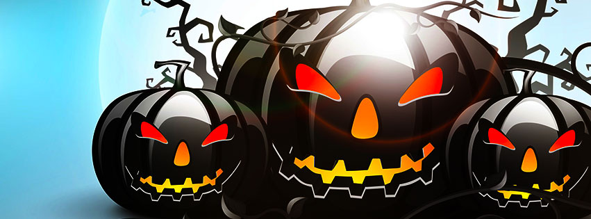 spooky jack o lanterns on halloween - Show Me Halloween Pictures