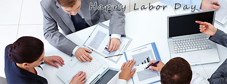 Happy Labor Day office