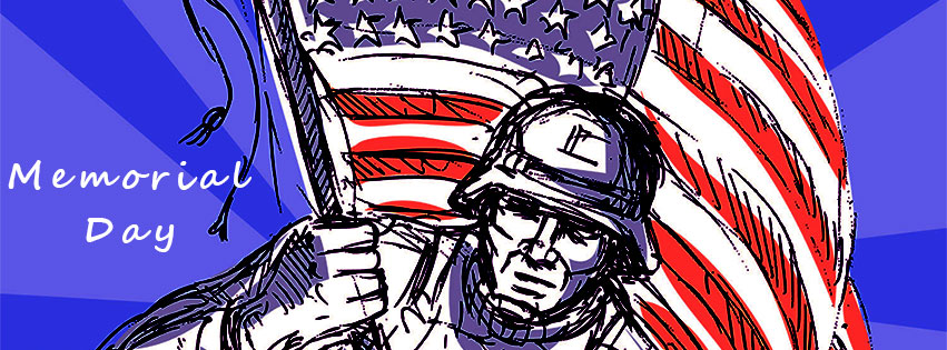 Free Memorial Day Facebook Covers - Clipart - Timeline - Images