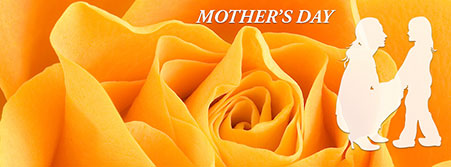mother's day with yellow rose