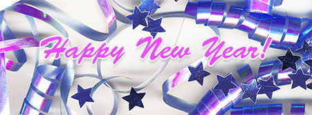 new year streamers