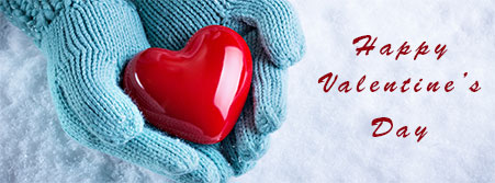 warm heart valentine's day