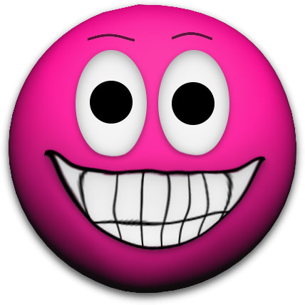 Creepy Cool Animated Faces - Gifs Clipart