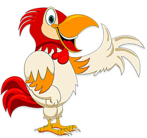 Image of: Animal Clipart Rooster Happy To See You Free Animations Clipart Free Farm Animal Gifs Farm Animal Animations Clipart