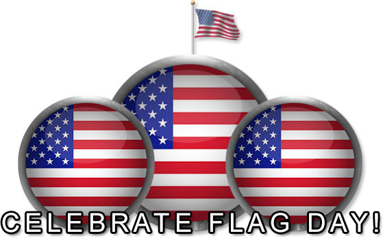 Free Flag Day Clipart