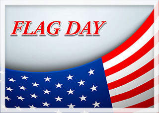 Flag Day sign