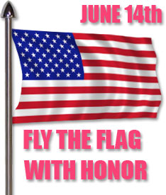 fly The Flag with honor