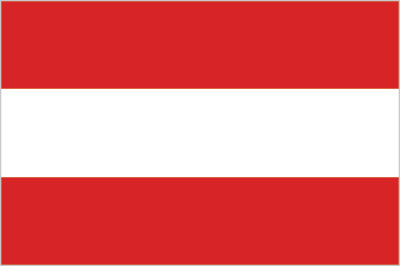 large Austrian flag