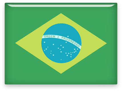 rectangular Brazil clipart