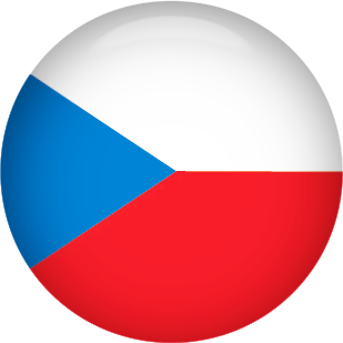 Czech Republic round button
