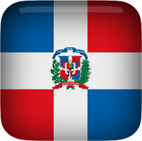 Dominican Republic clipart square