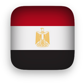Egyptian Flag clip art