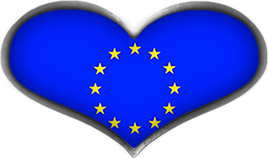EU heart flag
