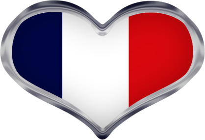 french heart flag - Flag Design Ideas