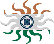 Free animated india flags indian clipart indian flag sun negle Image collections