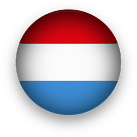 Luxembourg button round