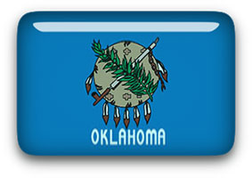 Oklahoma button rectangular