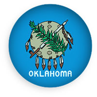 Oklahome button round