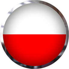 Poland Flag button