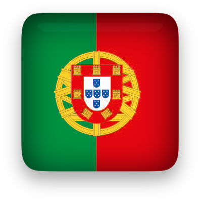 Portugal Flag clipart square