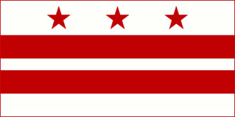 flag of District of Columbia