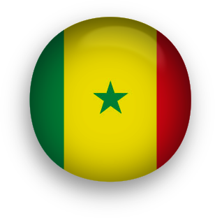Senegal round button