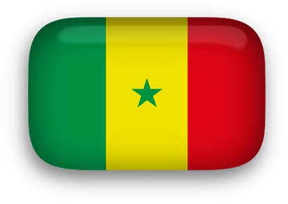 Senegal Flag clipart