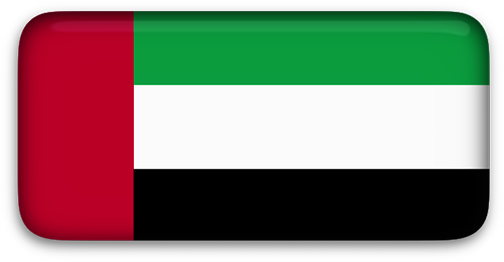 United Arab Emirates flag clip art