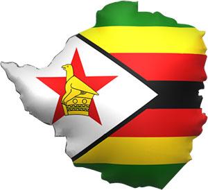 Free Animated Zimbabwe Flags Zimbabwean Clipart