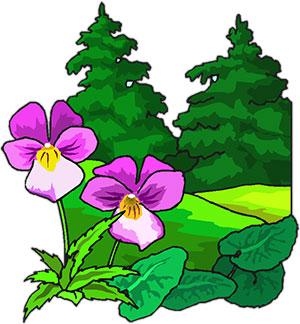 Free Animated Trees - Tree Clipart - Flowers