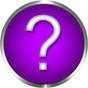 round question purple with chrome frame